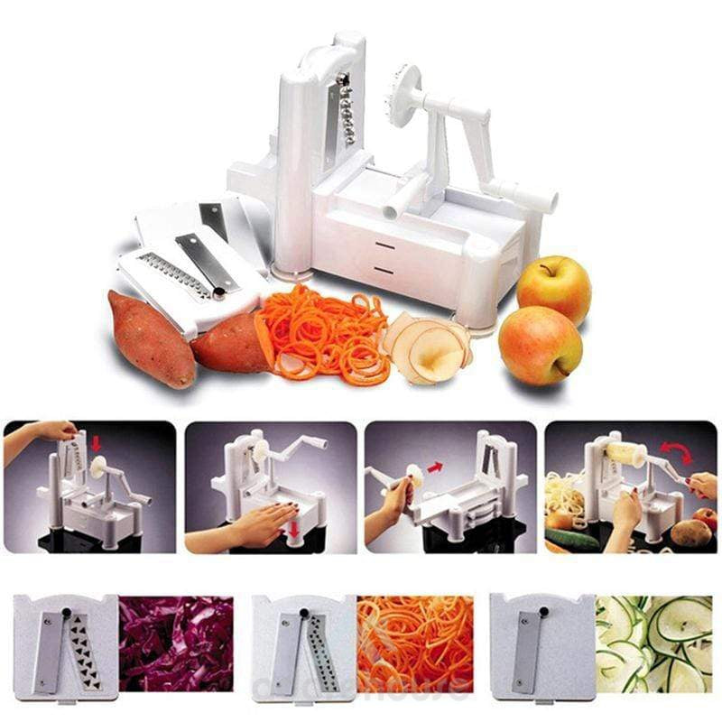 3-in-1 Cutting Machine Vegetable Slicer-Kitchen Tools & Gadgets-Adorehouse.com