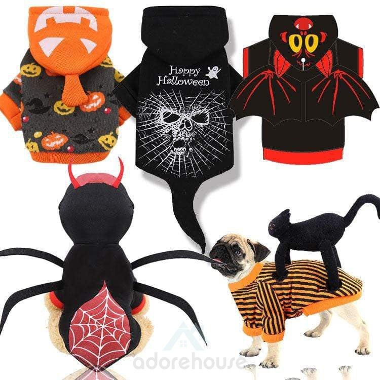 Halloween Pet Clothes for party cosplay-Halloween-Adorehouse.com