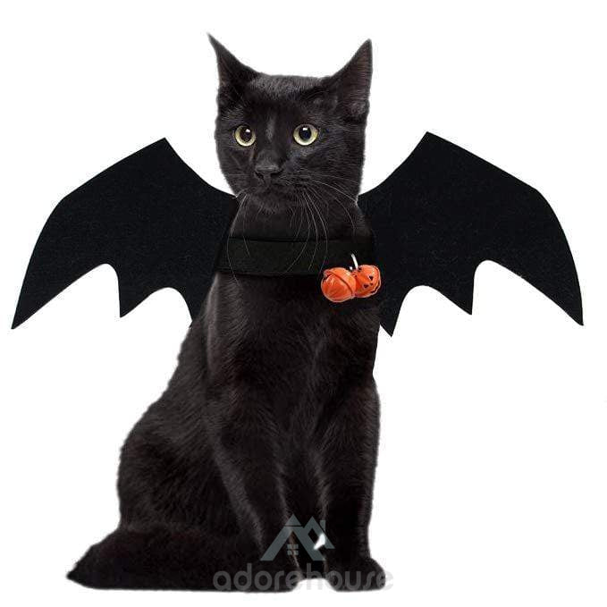 Halloween Pet Dog Bat Wings Costumes-Halloween-Adorehouse.com