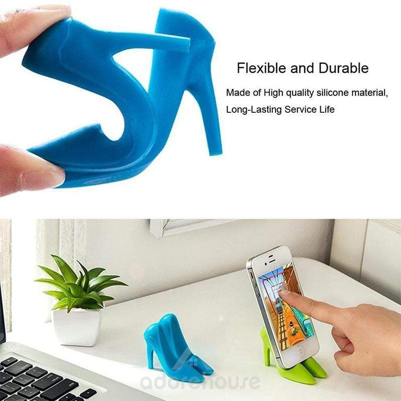 Creative High-Heeled Shoes Shaped Mobile Phone Mounts Holder-Phone Accessories-Adorehouse.com