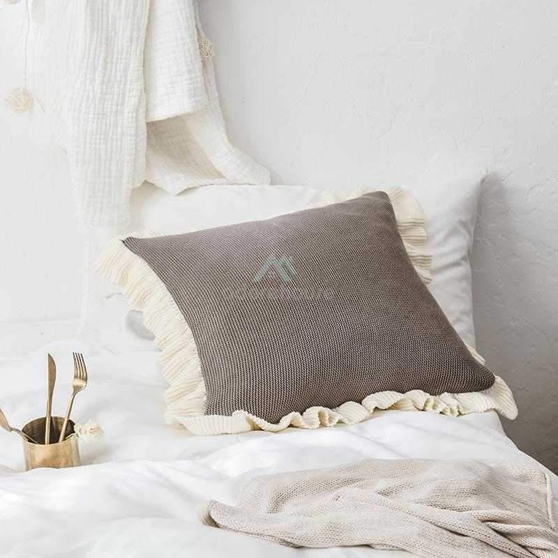Modern Linen Burlap Throw Pillow Covers-Decorative Pillows-Adorehouse.com