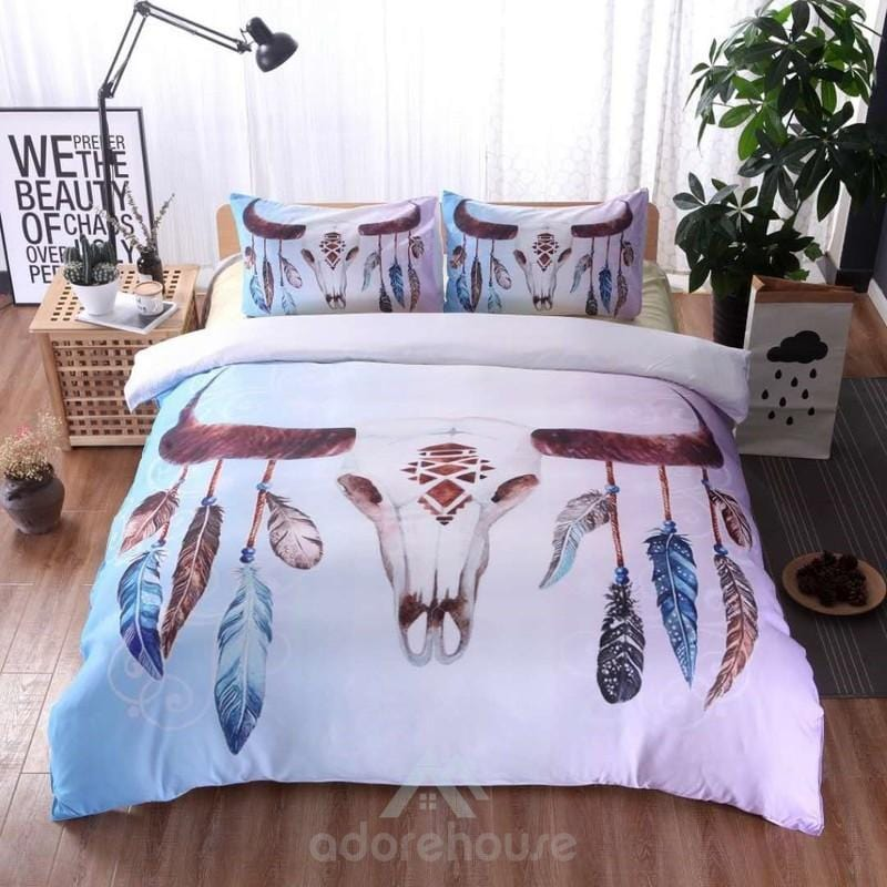 Comfortable Soft Microfiber Duvet Cover Set-Duvet Cover & Set-Adorehouse.com