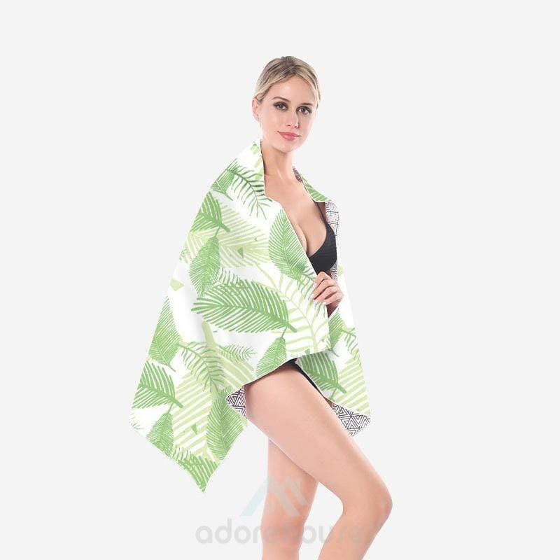 Vintage Quick Dry Lightweight Spa Towel-Bath Towels-Adorehouse.com