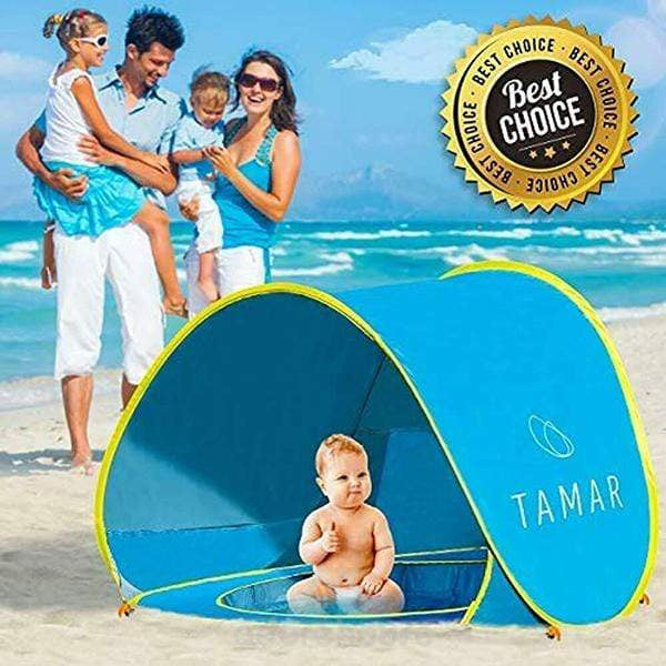 Portable Shade Baby Beach Pop Up Tent with Pool-Sports & Leisure-Adorehouse.com