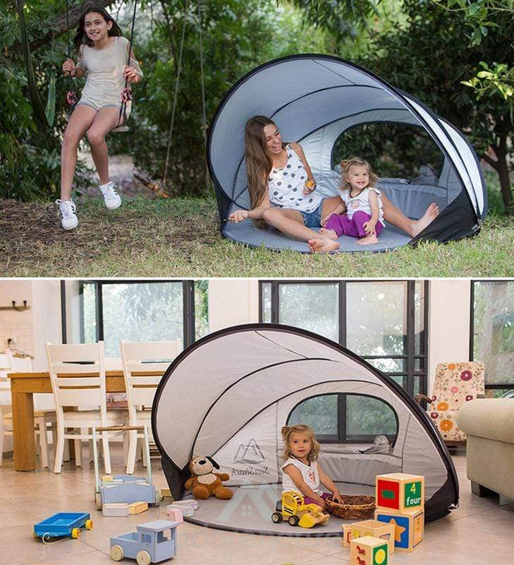 Multi-persoon Portable Pop Up Beach Sun Shelter-Sports & Leisure-Adorehouse.com
