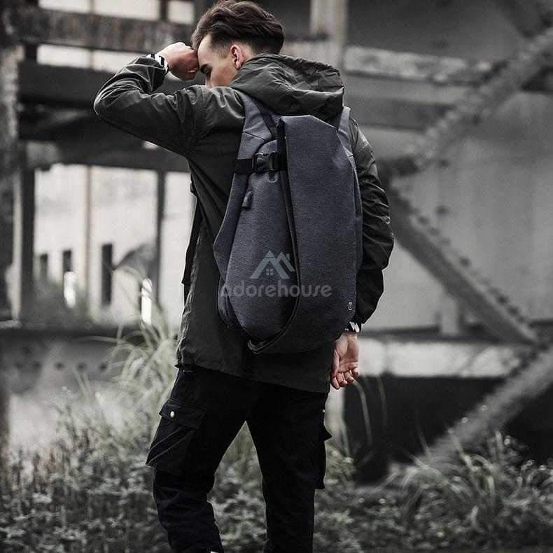 Travel Laptop Backpack Anti-theft Waterproof Nylon College School Cycling Backpacks-Backpacks-Adorehouse.com