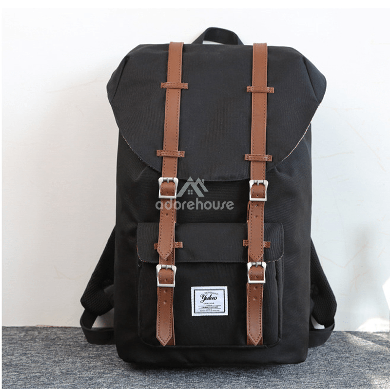 Vintage Water Resistant Oxford Outdoor Backpack-Backpacks-Adorehouse.com
