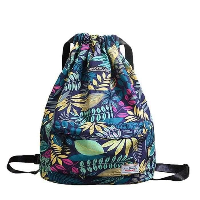 Drawstring Waterproof Polyester Lightweight Sport Bags-Backpacks-Adorehouse.com
