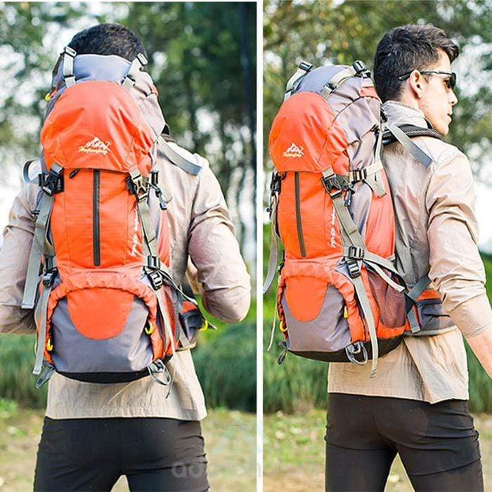 Outdoor Durable Water Resistant Nylon Backpack-Backpacks-Adorehouse.com