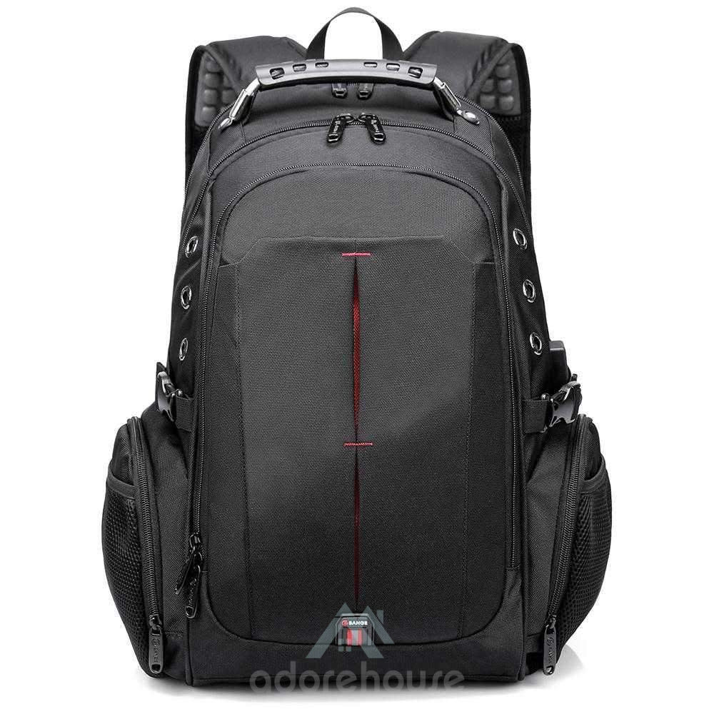 Waterproof Anti-theft Laptop Backpack with USB Charging Port for Outdoor Travel-Backpacks-Adorehouse.com