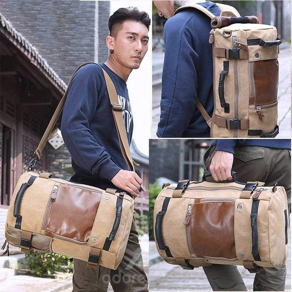 Vintage Waterproof Multifunction Oxford Outdoor Backpack-Backpacks-Adorehouse.com