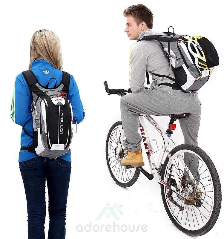 Outdoor Sports Backpack with Reflective Strips-Backpacks-Adorehouse.com