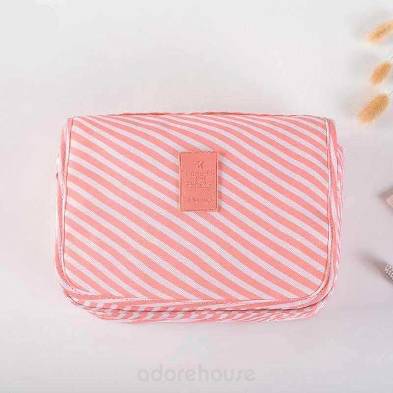 Waterproof Foldable Hanging Cosmetic Organizer-Cosmetic & Wash Bags-Adorehouse.com