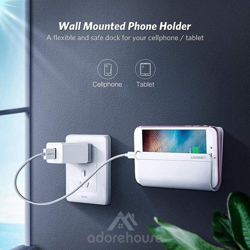 Multipurpose Wall Mount Holder for Cellphone Tablet-Phone Accessories-Adorehouse.com
