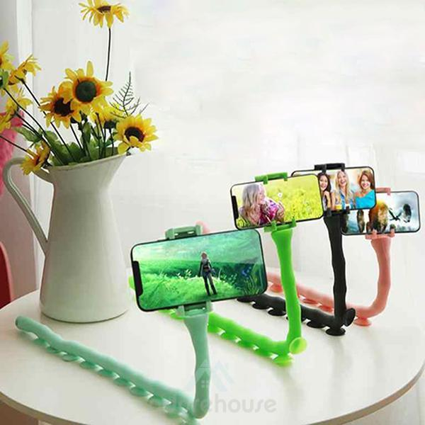 Cute Worm Flexible Lazy Phone Holder-Digital Case & Bags-Adorehouse.com