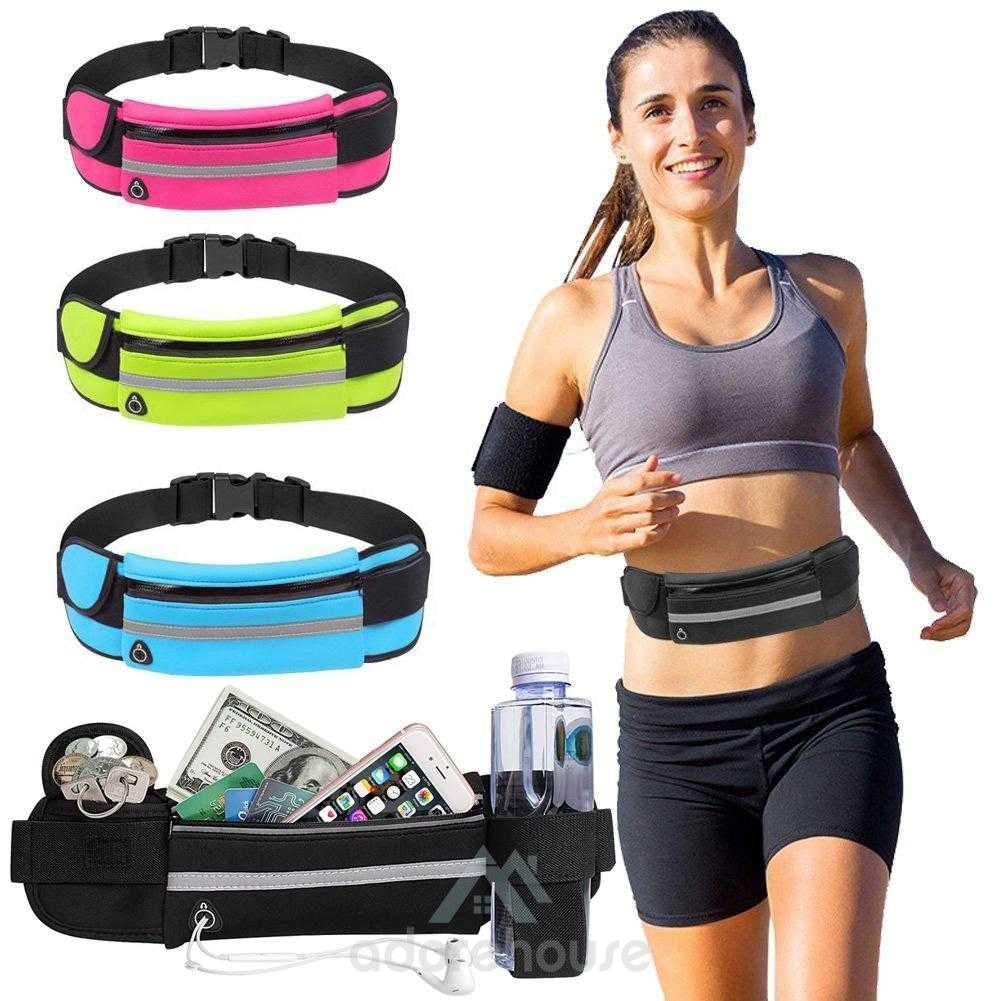 Soft Water Resistant Waist Bag-Waist Packs-Adorehouse.com