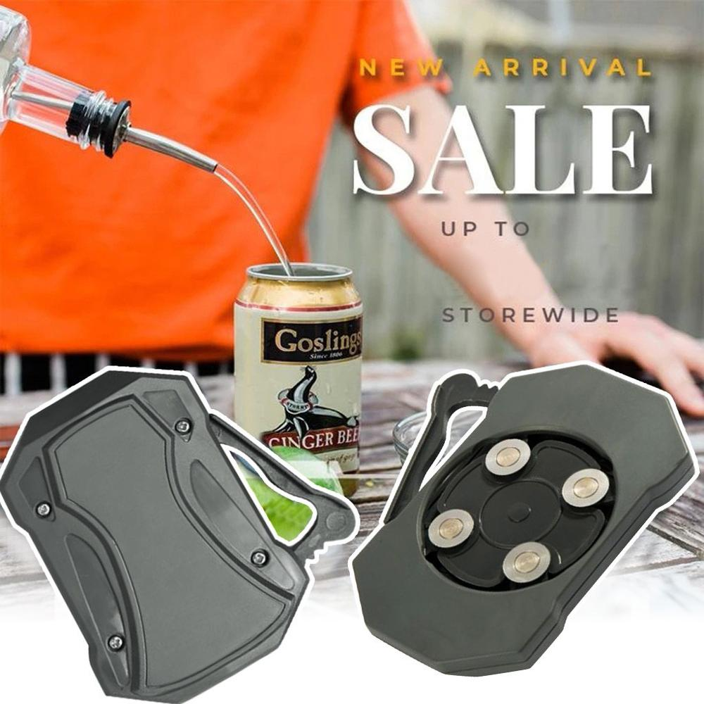 Topless Can Opener Bar Tool Safety Easy Manual Can Opener