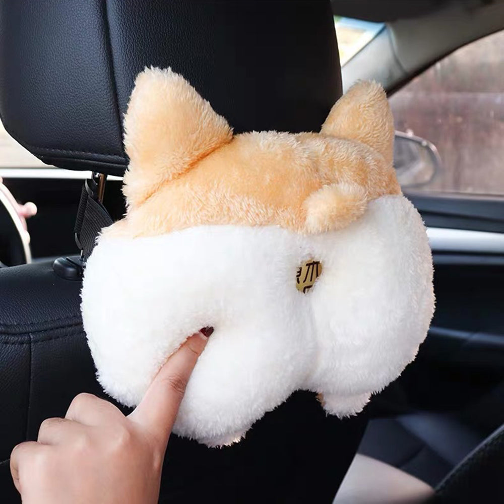Home Car Corgi Ass Tissue Box