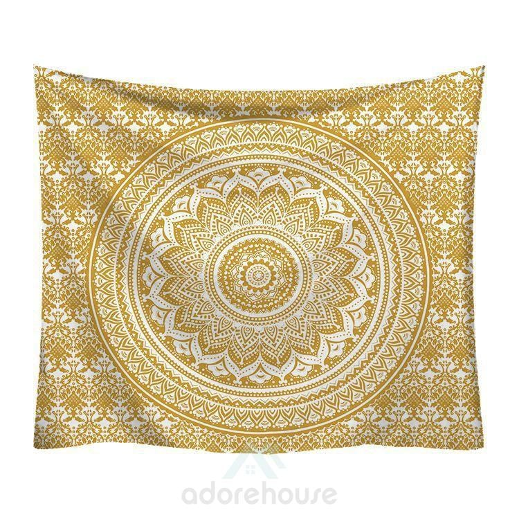 Bohemian Tapestries Flower Psychedelic Tapestry-Wall Decor-Adorehouse.com