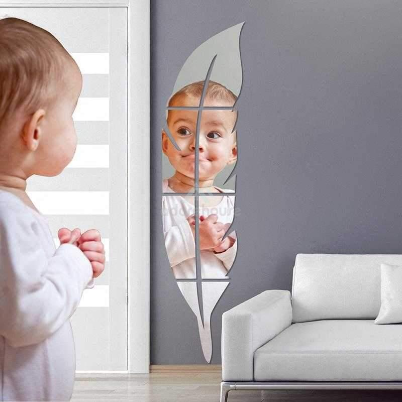 3D Wall Decor Acrylic Mirror Sticker-Wall Decor-Adorehouse.com