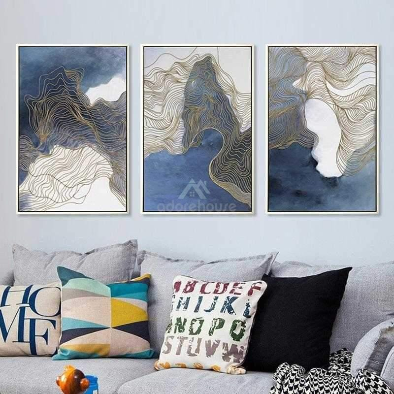 Nordic Painting Wall Art Canvas Poster-Wall Decor-Adorehouse.com