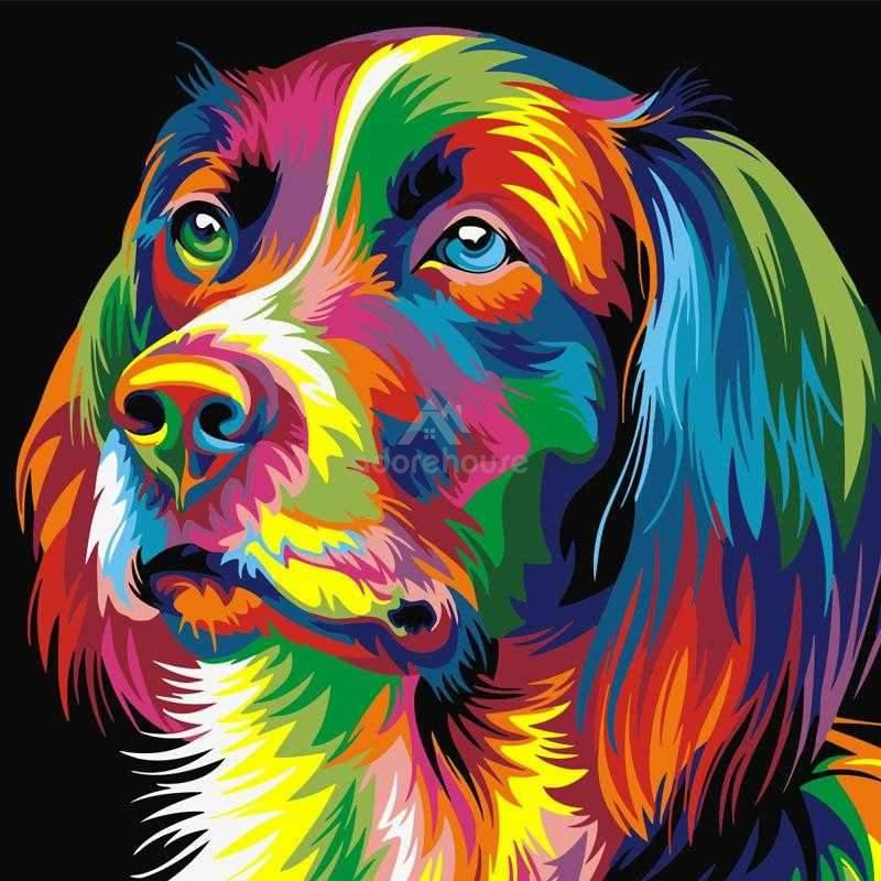 Colorful Animals DIY Digital Painting-Wall Decor-Adorehouse.com