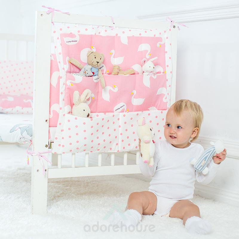 Multi-Function Baby Bed Storage Bag-Sofa & Bedside Storage-Adorehouse.com