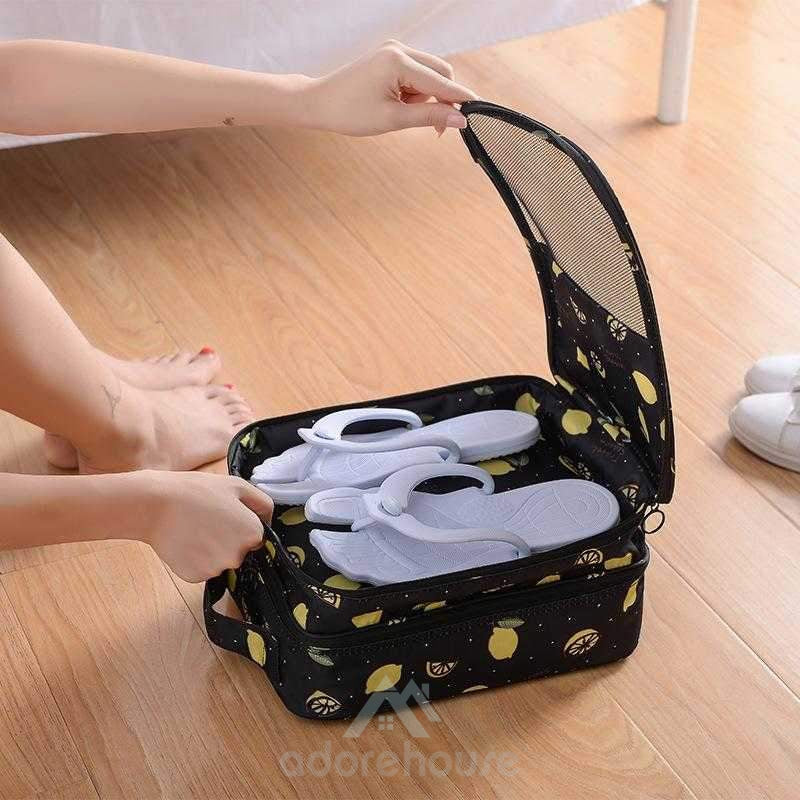 Travel Waterproof Shoe Bags Foldable Waterproof Shoe Pouches Organizer-Shoes Storage-Adorehouse.com