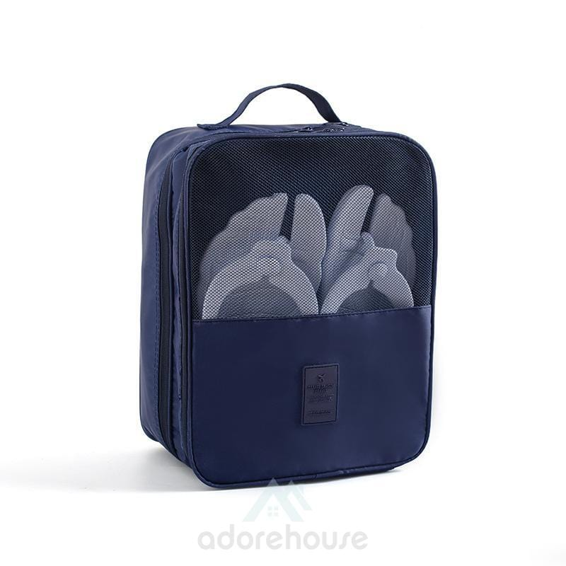 Travel Waterproof Double Layer Shoe Bags-Shoes Storage-Adorehouse.com
