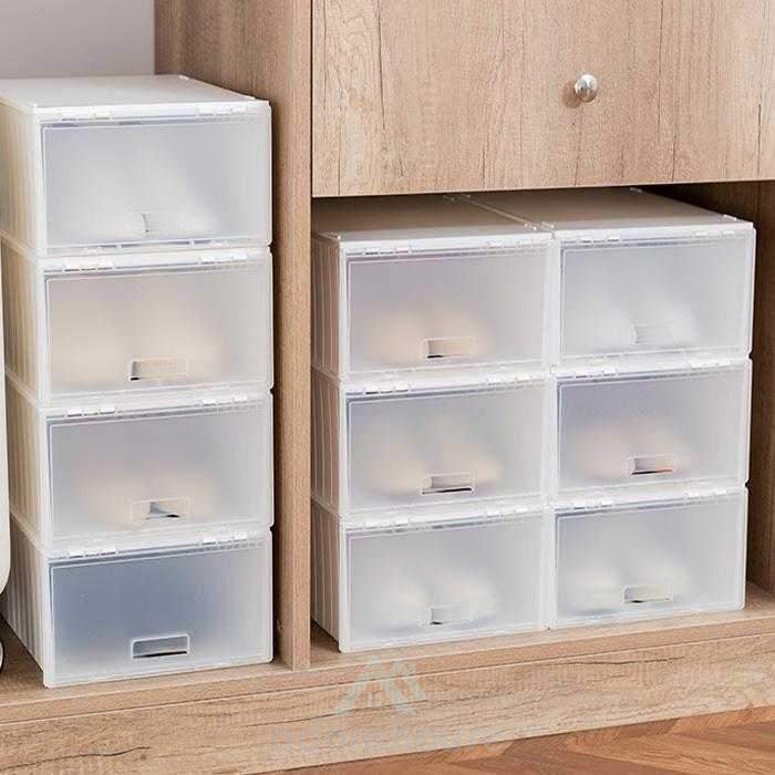 Portable Transparent Shoe Storage Organzier-Shoes Storage-Adorehouse.com