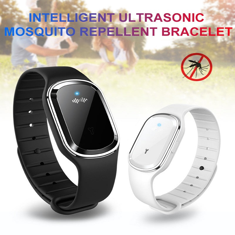 Ultrasound Mosquito Repellent Bracelet Electronic  Control Wristband For Kid Adult