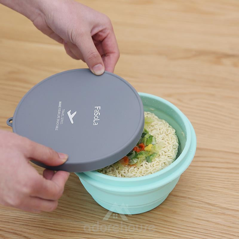 Portable Silicone Folding Storage Bowl-Kitchen Tools & Gadgets-Adorehouse.com