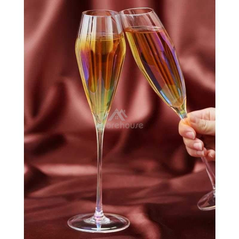 Premium Transparent Crystal Champagne Glass-Drinkware-Adorehouse.com