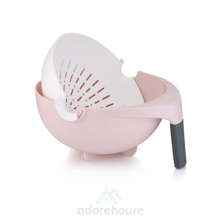 Multifunctional Water Saving Balanced Colander-Fruit & Vegetable Tools-Adorehouse.com