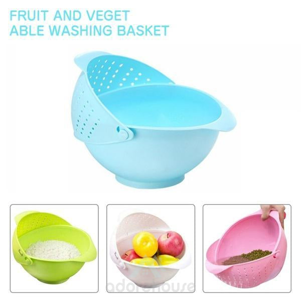 2 in 1 Double Drain Vegetables Fruit Basket-Fruit & Vegetable Tools-Adorehouse.com