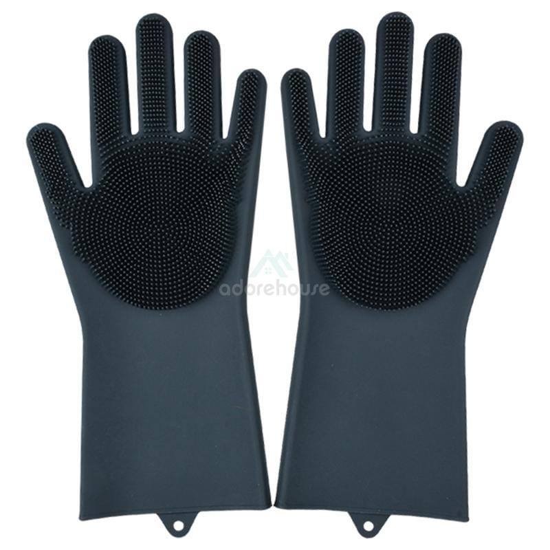 Silicone Reusable Heat Resistant Gloves-Kitchen Cleaning Tools-Adorehouse.com