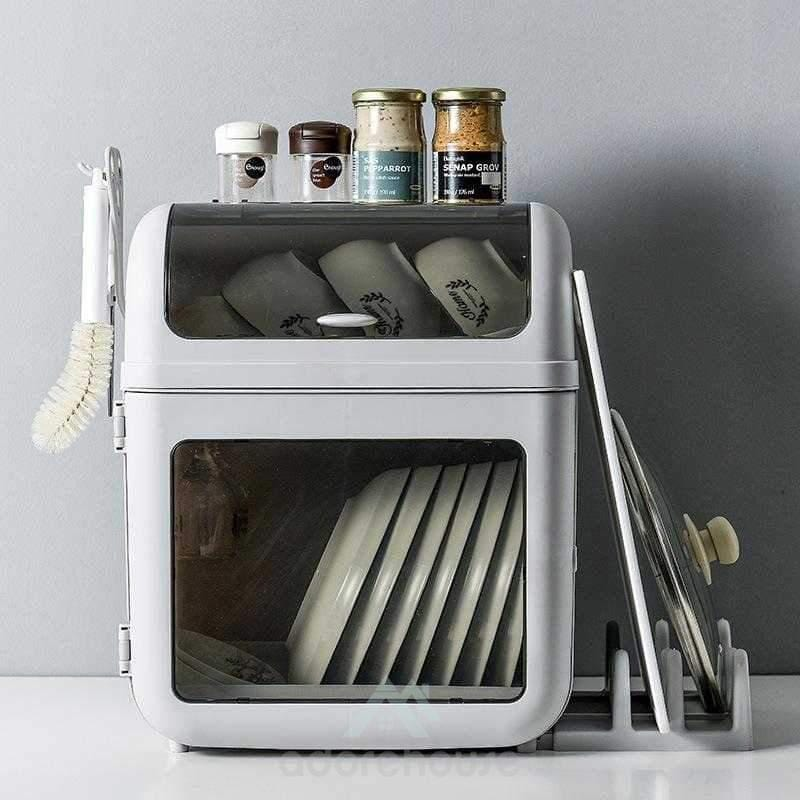 Dust-Proof Multifunction Cutlery Holder-Kitchen Tools & Gadgets-Adorehouse.com