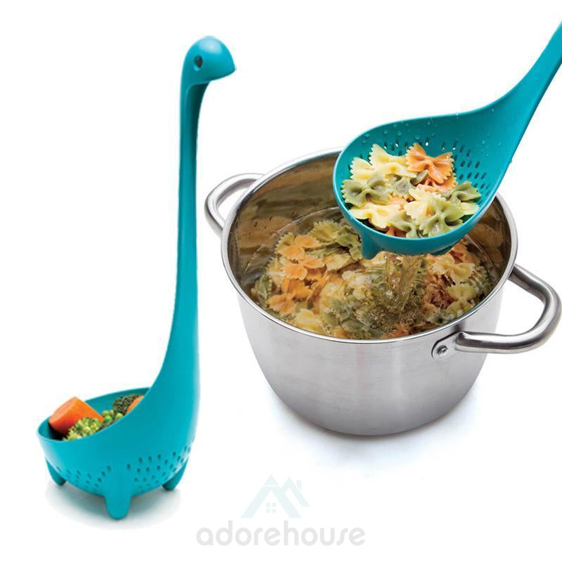 Dinosaur Shaped Standing Soup Ladle-Kitchen Tools & Gadgets-Adorehouse.com