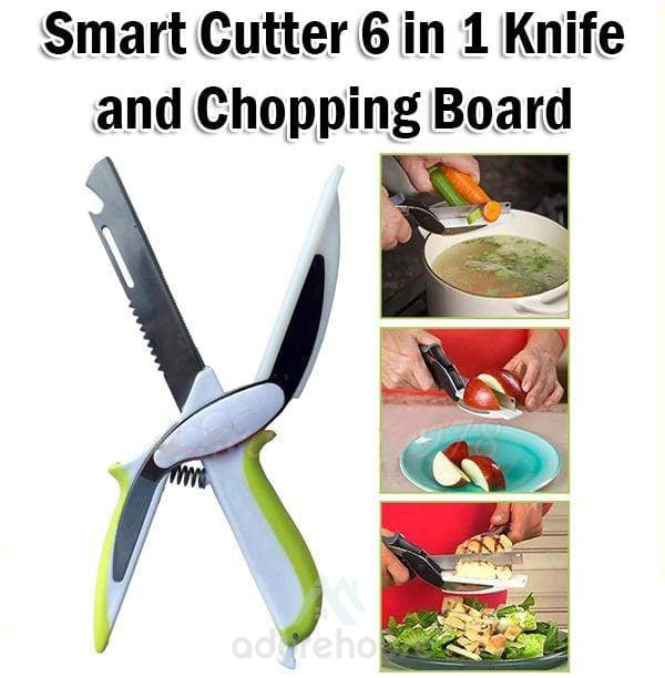 4 In 1 Kitchen Chopper with Cutting Board-Kitchen Tools & Gadgets-Adorehouse.com