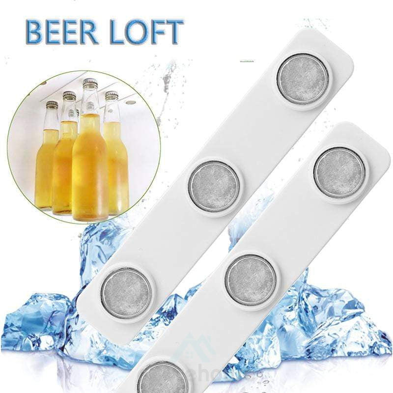 Fridge Magnetic Beer Bottle Jar Hanger (2Pcs)-Kitchen Tools & Gadgets-Adorehouse.com