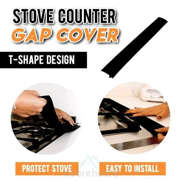Silicone Heat Resistant Stove Counter Gap Cover-Kitchen Tools & Gadgets-Adorehouse.com