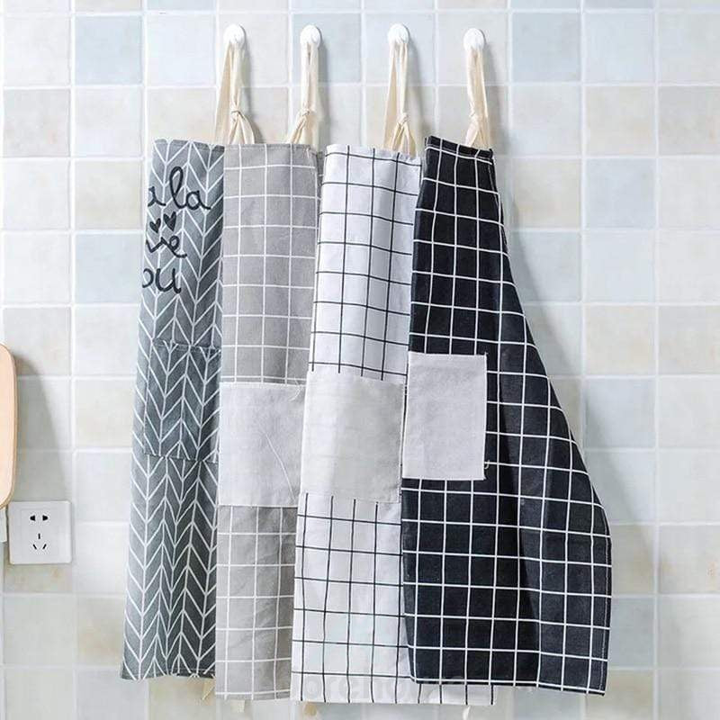 Cotton Waterproof Adjustable Sleeveless Cooking Aprons-Kitchen Tools & Gadgets-Adorehouse.com