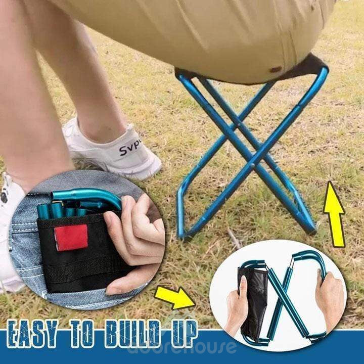 Outdoor Ultra Lightweight Portable Folding Chair-Sports & Leisure-Adorehouse.com