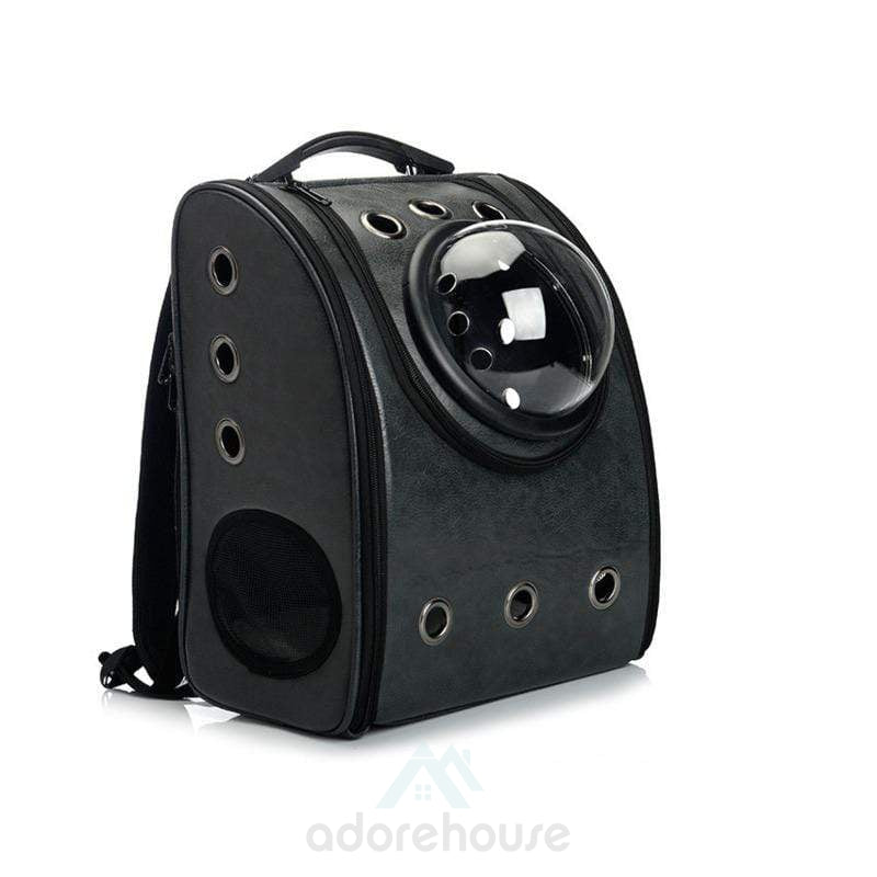 Space Capsule Bubble Travel Pet Carrier Backpack-Cats-Adorehouse.com