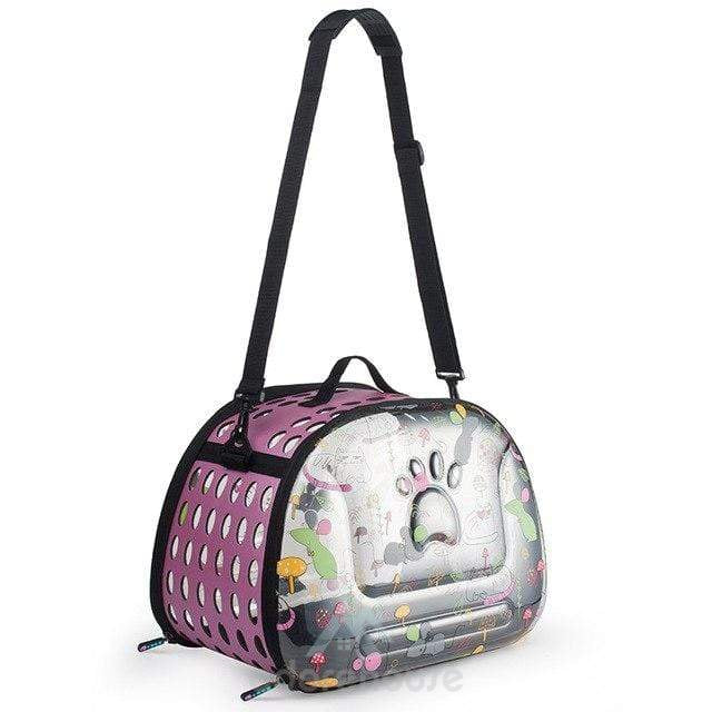 Portable Transparent Space Pet Carrier Handbag-Cats-Adorehouse.com
