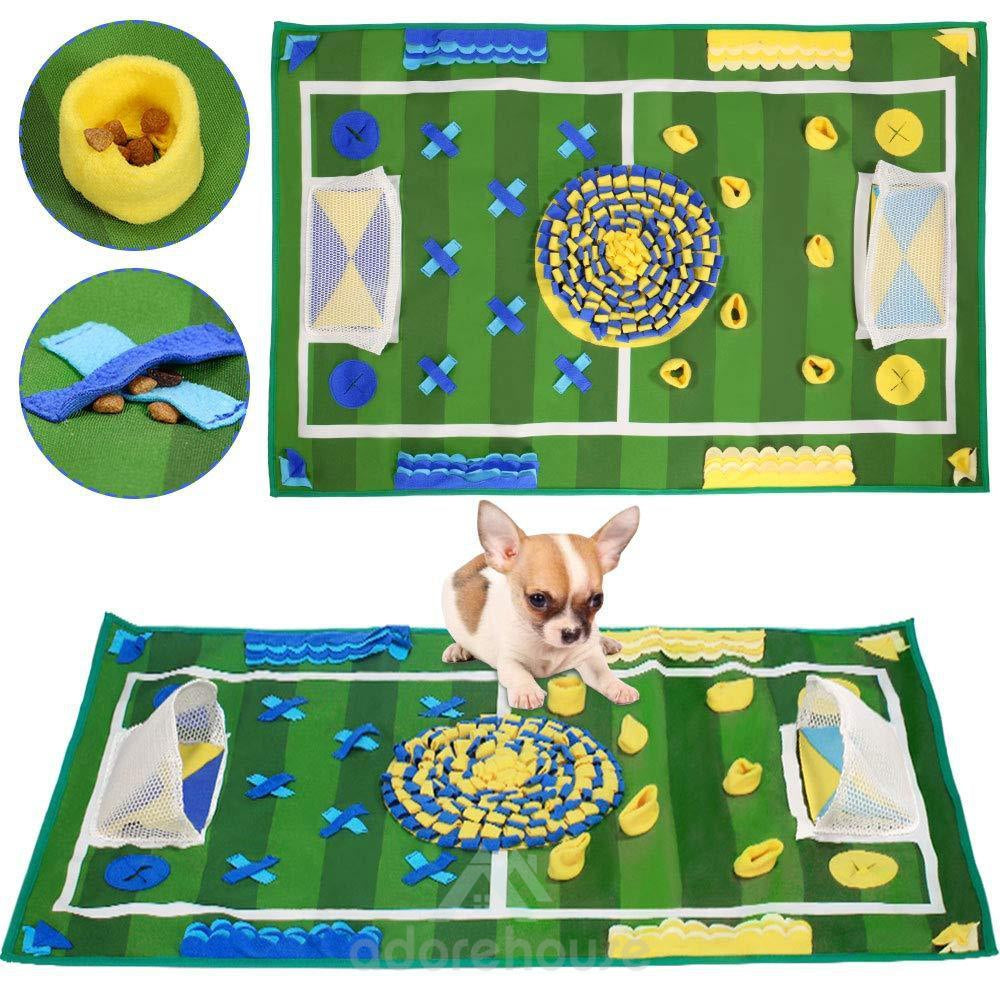 Slow feeding Anti-slip Washable Dog Snuffle Mat-Dogs-Adorehouse.com
