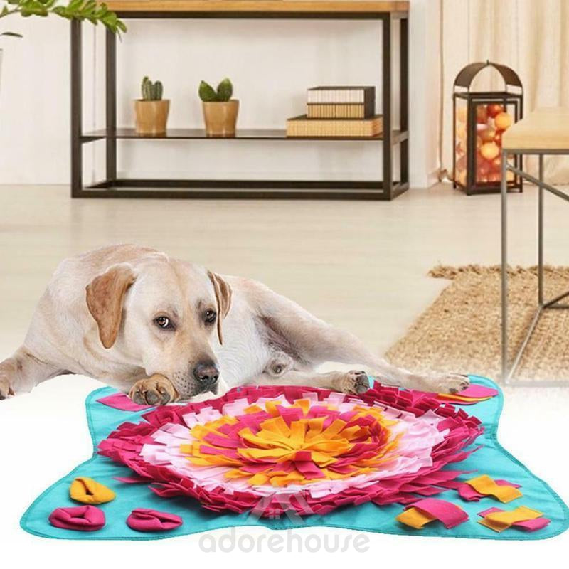 Washable Interactive Pet Dog Sniffing Mat-Dog Supplies-Adorehouse.com