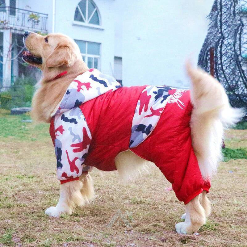 Winter Warm Pet Dog Camouflage Down Jacket-Dog Supplies-Adorehouse.com