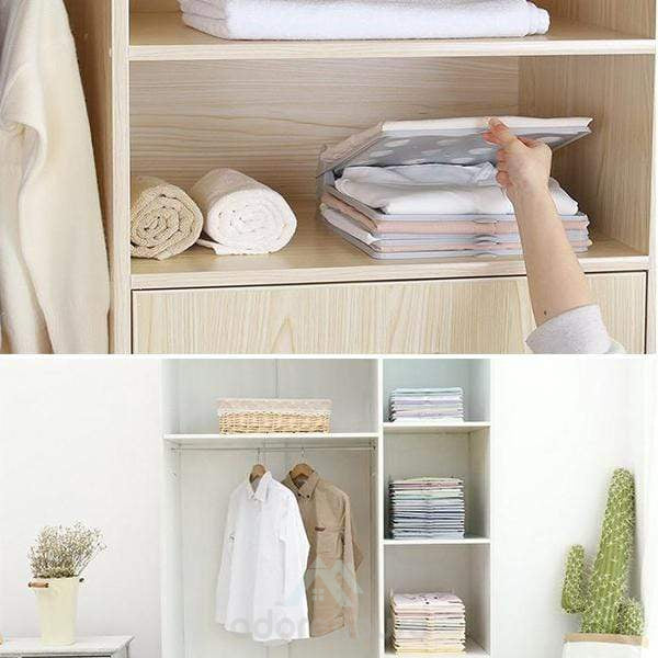 Anti-Wrinkle Lazy Wardrobe Storage Folding Board-Clothes & Quilts Storage-Adorehouse.com