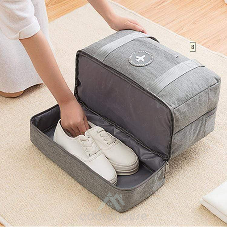 Dry Wet Separated Portable Sports Gym Bag-Clothes & Quilts Storage-Adorehouse.com